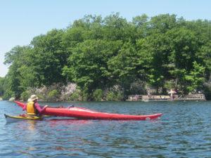 Rescue Practice at Lake Sebago.