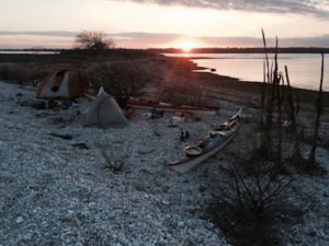 Sunrise at Camp.