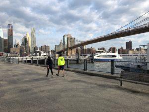 Brooklyn and Manhattan
