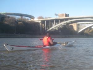Hamilton and Washington Bridges.